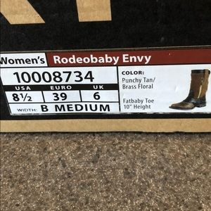 Ariat Shoes - Ariat Rodeobaby cowboy boots. 8.5